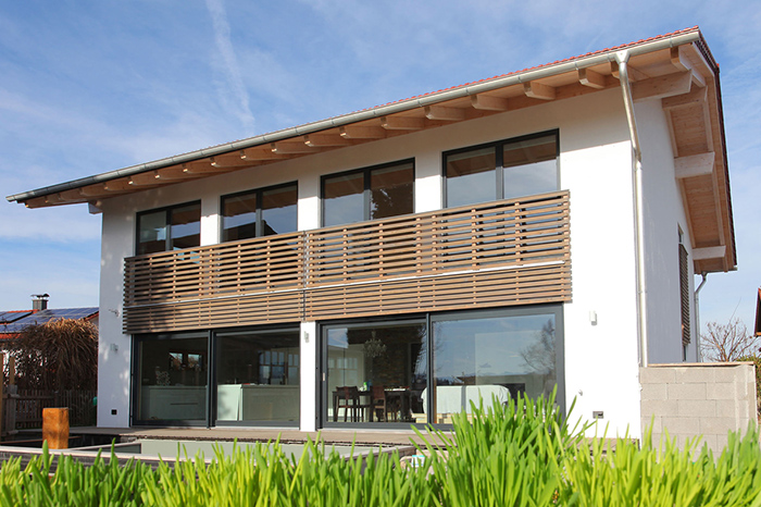 Niedrigenergie Holzhäuser